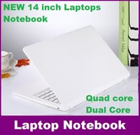 Wholesale Win Free Notebook Laptop - 14 inch QuaD core laptop 4GB 320GB Win 8   win 10 Itel Celeron N3050 1.6GHZ N3150 Notebook Computer PC ultrabook X64 laptops FREE SHIPPING