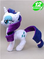 Wholesale Rarity Plush - My Little Toy Collection Pony Friendship Is Magic Little Cute Plush Pony Rarity Toys Little Gift