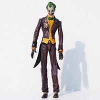 ingrosso modelli di burattini-Azione supereroi Batman il Joker PVC figura può articolare in movimento Collection Modello Circa 17 centimetri Circostanza 100% NUOVO