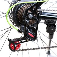 Wholesale Black Bicycle Rear Derailleur Hanger Chain Gear Guard Protector Cover Mountain Bike Cycling Transmission Protection Iron Frame