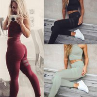 Wholesale Green Striped Leggings - Women's Sexy Leggings printing Sport Girl Skinny Stretchy Pants Tight fitting Elastic Slim Fit Fitness Pencil Trousers DDK12 FL RF