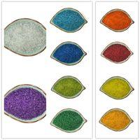 semillas checas al por mayor-Comercio al por mayor aproximadamente 2000 Unids 2mm Cristal Checo Claro Semilla Spacer Beads Jewelry Making DIY 10 colores para elegir BBG03-01