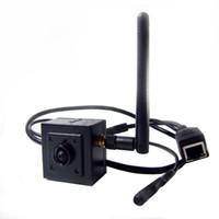 беспроводные мини камеры оптовых-960P H. 264 Onvif mini ip-камера wifi HD Wifi IP-камера Беспроводная P2P Plug Play Camera 2.8 mm pinhole объектив для микрофона поддержки