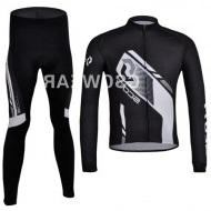 Wholesale Scott Thermal - Scott team Winter thermal fleeced clothes long sleeve cycling jersey pants bike bicycle wear set