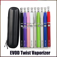 Evod Twist VV Starter Kit avec M7 Skillet Cire Kit Cigarette Vaporisateur 650/900 / 1100mAh tension variable 3.3-4.8v E