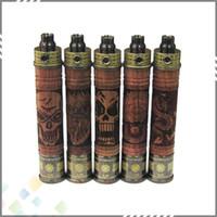 meilleure batterie de feu achat en gros de-Meilleure vente de bois forme X feu bois meilleur batterie de torsion variable 650mah / 900mah / 1100mah X-Fire batterie tension réglable 3,3 V ~ 4,8 V