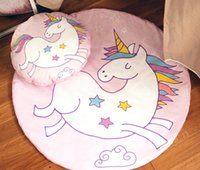Wholesale creep pad for sale - Group buy INS Baby Creeping Mats Fox Unicorn Play Game Mats Decorative Crawling Blanket Kids Room Unicorn fox Padded Floor Carpet styles A7890