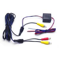 vw caméra de recul achat en gros de-vente en gros voiture arrière caméra vidéo fils d'alimentation câbles stabilisés relais condensateur LMZ filtre pour VW AUDI BMW Cadilac voitures # 2982