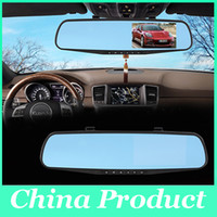 Car Dvr Mirror Camera 4.3