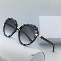 MORI / S Gafas de sol Popular Women Brand MORI Gafas de sol Remaches Inlay Frame Design Espejo Lente Estilo de verano Design With Original Case