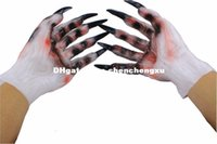 Wholesale Toy Demon - Party Christmas Cosplay Halloween props demon ghost ghost gloves gloves latex dress masquerade adult male and female hands dresses