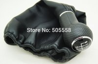 Wholesale Volkswagen Gear Boot - 5 SPEED GEAR SHIFT KNOB BOOT LEATHER FOR VW VOLKSWAGEN POLO POLO CLASSIC 6N 6N2 A3*