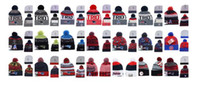 Wholesale Top Fashion Knit - 2017 New Arrival HOT ENGLAND Knit Beanie Wool Caps Team sports PATRIOTS Beanies Skull Hats Men Women Winter Wool Caps black
