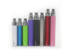 Wholesale Mini Ego T Ce4 - eGo-T battery E-cigarette colorful 350mah mini battery adapter to BBC MT3 CE4 CE5 GS-H2 atomizer ego battery DHL Free