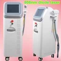 Wholesale Laser Hair Removal Salon Equipment - 2000W high output power 808nm diode laser hair removal machine 808 nm dark facial hair removal Suitable for all skin types salon equipment