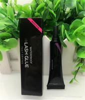 Wholesale False Eyelashes Glue Waterproof - HB Beauty Eye Lash Glue White & Black Makeup Adhesive Waterproof Fast Drying False Eyelashes Lady Makeup Tool Free DHL shipping