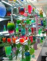ingrosso vasi aqua-Colori Perle di acqua Fango di cristallo Gel di acqua Perline Terreno Terreno di cristallo Pianta Fiore Gelatina di cristallo Terreno Fango Perle di acqua Gel Bead
