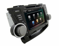 """Wholesale Stereo Toyota Highlander - 8"""" digital panel android 4.4 system GPS map and vedio quad core two din car DVD player for TOYOTA HIGLANDER"""