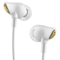 Wholesale Rock Earphones - Wholesale-100% Original Rock Earphone Nano Zircon Stereo Earphone Headset 3.5mm In Ear Headset Earbuds For IPhone Samsung With