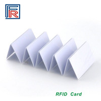 Wholesale Proximity Card Copy - 2017 Hot UID Changeable Card Copy Clone 13.56mhz RFID ISO14443A Block 0 sector zero writable card 100pcs