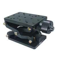 Wholesale Z Axis Slide - PT-SD408 Precise Manual Lift, Z-axis Manual Lab Jack, Elevator, Optical Sliding Lift, 60mm Travel