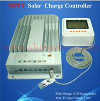 Wholesale Tracer Controller - New MPPT solar charge controller 12v 24v 40A with computer connection max pv 150v input Tracer 4215BN
