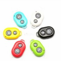 Wholesale Iphone Camera Remote Shutter - Hot Phone Bluetooth Timer Wireless Bluetooth Remote Photo Camera Control Self-timer AB Shutter for iPhone 5S 6 Galaxy S4 S5 Note3 M8 Android