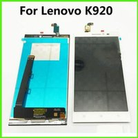 Wholesale Pro Lcd Monitor - For Lenovo Vibe Z2 Pro K920 LCD Screen Display Touch Screen Digitizer Assembly Black Lenovo LCD Monitor White Phone Repair Parts