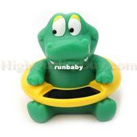 ingrosso termometro a temperatura del bambino-Hot Cute Crocodile Sogno Baby Infant Vasca da bagno Termometro Tester temperatura dell'acqua giocattolo