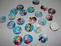 Wholesale Hot sale diy handmade photo glass cabochon mixed kinds of frozen styles mm