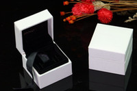 Wholesale Dust Charms - white pan charm dust bags box sterling silver charm jewelry packing box