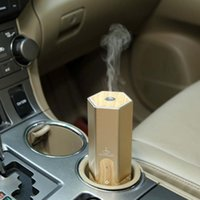Wholesale Retail Essential Oils - New design hot selling 3 kinds aroma diffuser for car with gold black and sliver colors with retail box DHL free shipping