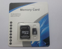 50pcs / pcs DHL 32GB 64GB 128GB 256Go Class 10 Micro SD TF carte mémoire KIUhot Adapter Retail Package flash SD SDHC CADEAU