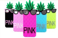 Wholesale Iphone 4s Watermelon Cases - Cartoon Cell phone Case Cute PINK 3D Watermelon Soft Silionce PhoneCover For Iphone 4 4s Iphone 5 6 6 plus Cell Phone Cover