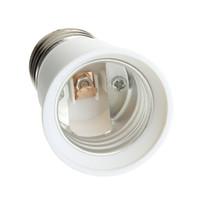 Wholesale T5 Bulb Converter - 1Pcs E27 To E27 Light Bulb Lamp Holder Socket Adapter Converter ing Brand New
