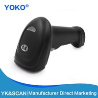 Wholesale image scanners - Wholesale- Image CCD 1D Screen Hand-held Barcode Scanner YK-M1(Screen available) Free shipping RS232 Interface