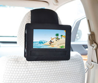 Wholesale Portable Dvd Player Cars - TFY Mount-DVD-7 Car Headrest Mount for Swivel and Flip Style 7-Inch Portable DVD Player