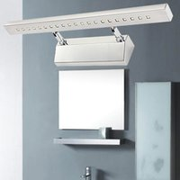 Al por mayor [S casa] de pared LED luces del espejo de baño Lámparas moderna minimalista destacado de la cocina de pared impermeable lámpara WL0223