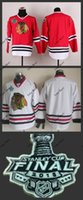 Wholesale Item Number - Hot Item Chicago blank no name no number Blackhawks red white Ice Hockey Jerseys 2015 Final Stanley Cup Patch Accept Mix order Free Shipping