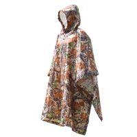 Wholesale outdoor backpack raincoat - Wholesale- 3 in 1 Multifunctional Raincoat Outdoor Travel Rain Poncho Backpack Rain Cover Waterproof awning tent Camping hiking tarp