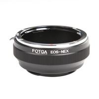 Wholesale Nex 5r Lens - FOTGA Canon EOS EF Lens To Sony E-Mount NEX3 NEX-5 NEX-6 NEX-7 NEX-5N 5R Adapter