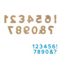 Wholesale Craft Numbers - Golden Numbers DIY Metal Cutting Dies Stencil Scrapbook Card Album Paper Embossing Crafts