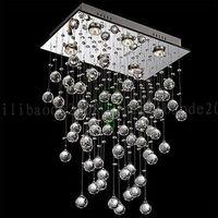 Wholesale Galaxy Master - L20cm*W12cm*H32cm Modern Contemporary LED Crystal Galaxy Chandelier Pendant 6-Light Lamp Ceiling LLWA038