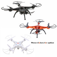 Wholesale Aluminum Record Case - Original Syma X5SW 4CH 2.4G 6-axis Gyro RC Wifi 0.3MP Camera FPV Quadcopter with Aluminum Carrying Case & Fluorescent Sets