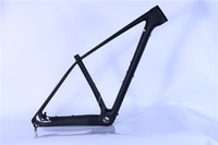 Wholesale mountain bike frame sizes - China NEW MTB Bike 29er Carbon Frame ,142 and 12mm thru axle or 135*9mm MTB carbon frame 29 or 27.5 er 15 or 17 size we have it