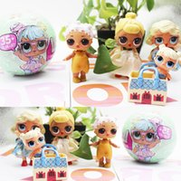 Wholesale Wholesale Rags - 1 PCS LOL Lil Outrageous Surprise Ball Series 2 Doll Blind Mystery Toys Big Ball