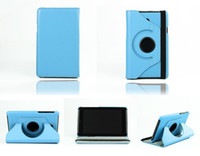 Wholesale Cover For Fonepad - 360 Degree Rotating Flip PU Leather Cover Stand Case With Sleep Wake Up For ASUS Fonepad 7 inch FE170 HD7 ME372 MeMo Pad ME175 ME176