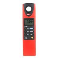 Wholesale Digital Lux Meter Professional - UNI-T UT38 Professional Photometer Measure Luxmeter Illuminance Measurement Digital LCD Auto Range LUX FC Luminometer Lux Meter