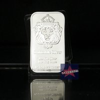 Wholesale Wholesale Bullion - Scottsdale Silver American standard Silver bullion souvenir Commemorative coin wholesales Free shipping 5pcs lot