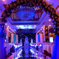 movie design 2018 - New Fashion Wedding Mirror Carpet Aisle Runner Shine Silver Side Design T Station Decoration Wedding Favors Carpets